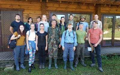Project team participates in the search of Oxyporus mannerheimii