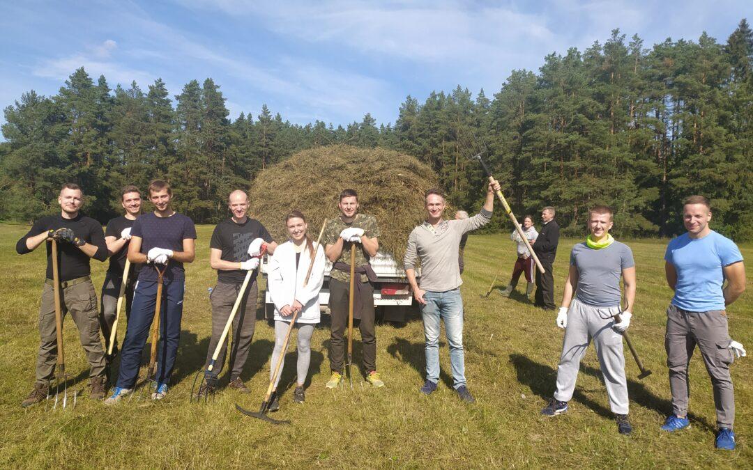 """""""Naturalit"""" projekto ir """"Swedbank"""" pastangomis – 13 talkų saugomose teritorijose"""